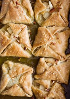 Apple dumplings and I have some Trade Joe's pie crusts to use.