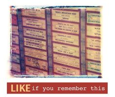 Like, share, repin :D   Enjoy    Jukebox #music #retro