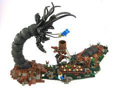 Abhorrent Lego entity. www.howtospotapsychopath.com