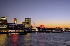London sunset  (oxo tower)