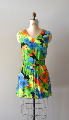 vintage 1960s dress / mini 60s dress / Ciudad by DearGolden, $74.00