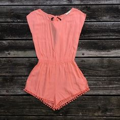 Urban Outfitters Romper I got this and only wore it once, then outgrew it. The color is best represented in the first photo. It's still in great condition and has pockets! I do consider all offers on all items!  Urban Outfitters Other
