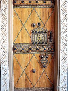 Door from Unayzah, Qassim Province
