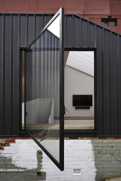 Lightbox House by Edwards Moore Architects transforms a cramped and dark terrace into a light, bright wonder. Perforated floor, translucent ceiling and all. Australian Interior Design, Interior Design Awards, Architecture Details, Interior Architecture, Interior And Exterior, Exterior Design, Exterior Cladding, Windows And Doors, Windows