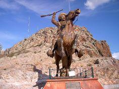 Pancho Villa.  Cerro de la Bufa.  Zacatecas, México.