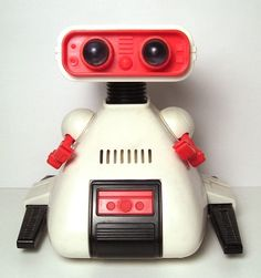 Dingbot could move around your house hitting walls. Another Tomy robot.