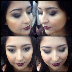Make por Carol San Cristobal #make #beauty #beleza #clientelinda #circushair