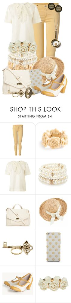 """Vintage Nancy Drew"" by detectiveworkisalwaysinstyle ❤ liked on Polyvore featuring 7 For All Mankind, Orla Kiely, Forever 21, Helen Kaminski, House of Harlow 1960, Kate Spade, Chelsea Crew, Wet Seal and vintage"