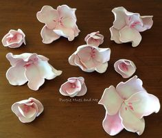 Cherry Blossom Foam Flowers - DIY | Hometalk