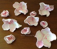 Cherry Blossom Foam Flowers - DIY | Hometalk