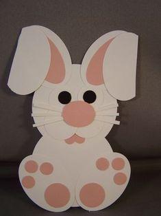 easter bunny craft idea (3)  |   Crafts and Worksheets for Preschool,Toddler and Kindergarten