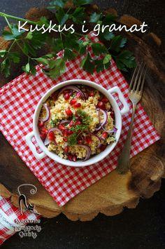Kulinarne przygody Gatity: Sałatka z kuskusem i granatem