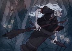 Instagram|Facebook|Shop (Music: The Vision Bleak – Cannibal Witch) Baba Yaga is considered one of the most intriguing characters from Slavic mythology. She is a supern...