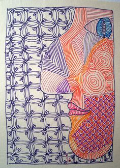 Zendoodle Profile by Ruby OpalTones #doodles
