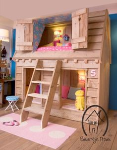 I love this kids bed from SaartjePrum in NL