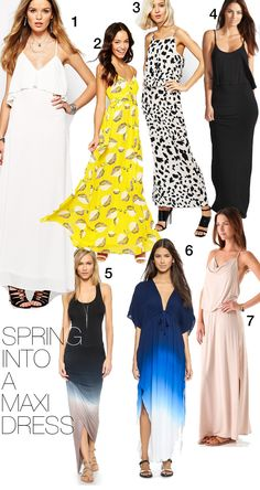 Made By Girl: The Maxi Dress