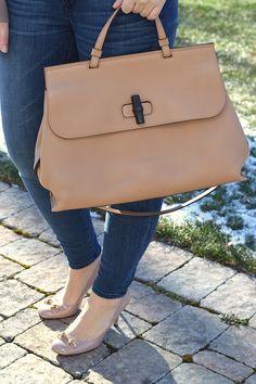f12a20fd3d Gucci Bamboo Daily Leather Handbag – PartialtoPink.com Gucci Bags