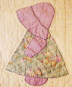 Sunbonnet Sue Printable Pattern | Sunbonnet Sue is number 47.1 in my Encyclopedia of Applique . The ...