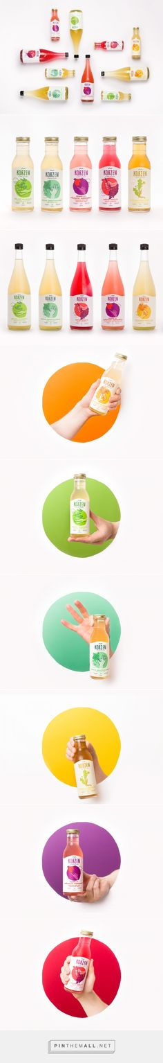 Korzen Kombucha - Packaging of the World - Creative Package Design Gallery - http://www.packagingoftheworld.com/2017/08/korzen.html
