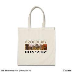 TEE Broadway Star Tote Bag