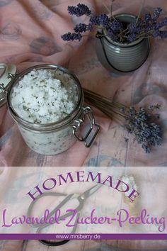 Beauty & Wellness DIY: Lavendel-Zucker-Peeling selber machen
