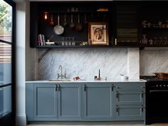 The Hackney Kitchen by Buster + Punch - same kitchen I love but maybe too specific taste wise for a development
