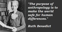 Ruth Benedict | Ruth Benedict Quotes