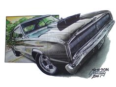 1966 Dodge Charger by SIMPSONARTISTRY on deviantART