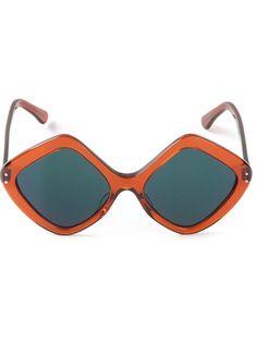 CUTLER and GROSS Diamond Shaped Sunglasses