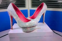 * SILVER in My World GIF click onto picture to see the Sparkle of Shoe.