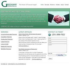 Website redesign for New Jersey commercial lender. Project details at: http://sbmwebsitedesign.com/new-jersey-lender