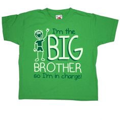 Im The Big Brother T-Shirt from 8Ball.co.uk