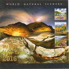 Kalender Executive 2016 Pesona Alam Dunia