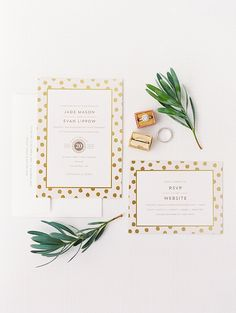 Romantic Blush & Gold Wedding Featured on Glamour & Grace — ROQUE Events | Wedding Invitations