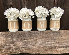 Image result for glass jar mantle with dangling plant