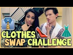 CLOTHES SWAP CHALLENGE w/ IISUPERWOMANII - YouTube      Models in Action