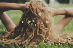Get over your hill and see what you find there, with grace in your heart and flowers in your hair.
