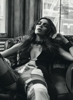 model: iulia cirstea (elite) photographer: michael groeger stylist: cristina craciun hair: riad azar (atelier) make-up...