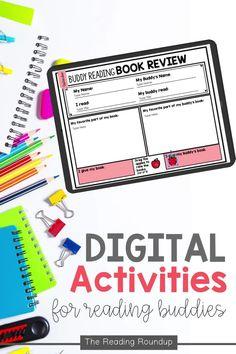 Is your Daily 5 Buddy Reading Center as effective as you'd like for it to be? These digital and printable reading buddies bookmarks are guaranteed to lead to more student engagement. Elementary students can practice decoding unknown words, answering comprehension questions, making connections, and retelling stories with these bookmarks. Reading response sheets are also available for additional accountability during literacy centers. A must-have for your reading workshop! Partner Reading, Reading Response, Student Reading, Reading Centers, Reading Workshop, Literacy Centers, Short I Words, Reading Bookmarks, Reading Buddies