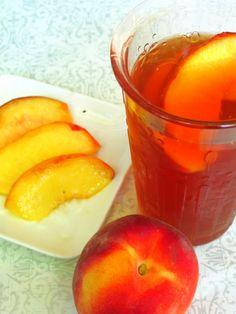 Summertime is...Peach Iced Tea! | Kiku Corner