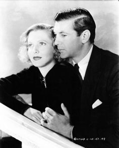 Jean Arthur and Gary Cooper in Mr.Deeds Goes to Town (1936)