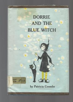 Vintage Hardcover Book From Dorrie The Witch Series, Vintage Children's Book, Dorrie And The Blue Witch By Patricia Coombs