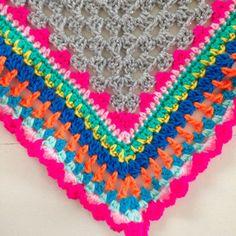 Crochet shawl -Studio Hip en Stip-