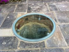 glass cover for well