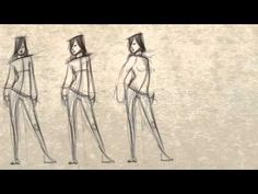 Excellent video for drawing figures and adding concepts like proportion. How to Draw Interesting Poses