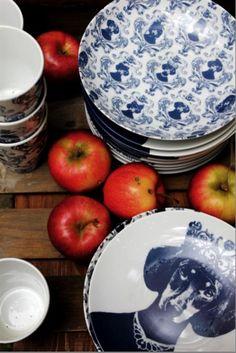 #dachshund plates  Lisa Bengtsson Dining Decor, Kitchen Dining, Pop Art, Weenie Dogs, Victorian Decor, Missing Piece, Arte Pop, Lisa, Inspired Homes