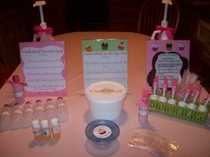 spa party ideas for girls birthday | Spa craft table.jpg from A SWEET RETREAT Mobile Spa Parties For Girls ...
