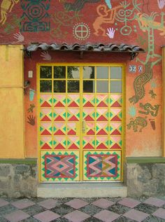 Geometric splendor ~ Ajijic, Mexico by Steve Miller