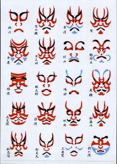 images of kabuki | El Cole de Fiesta!: MAQUILLAJE KABUKI PARA LA PRÓXIMA FIESTA: Un ...
