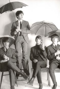 The Beatles Twist on Music and Umbrellas from Mary Poppins